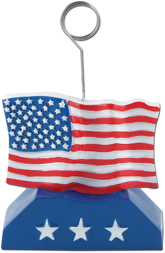 Flag Photo-Balloon Holder - CASE OF 12
