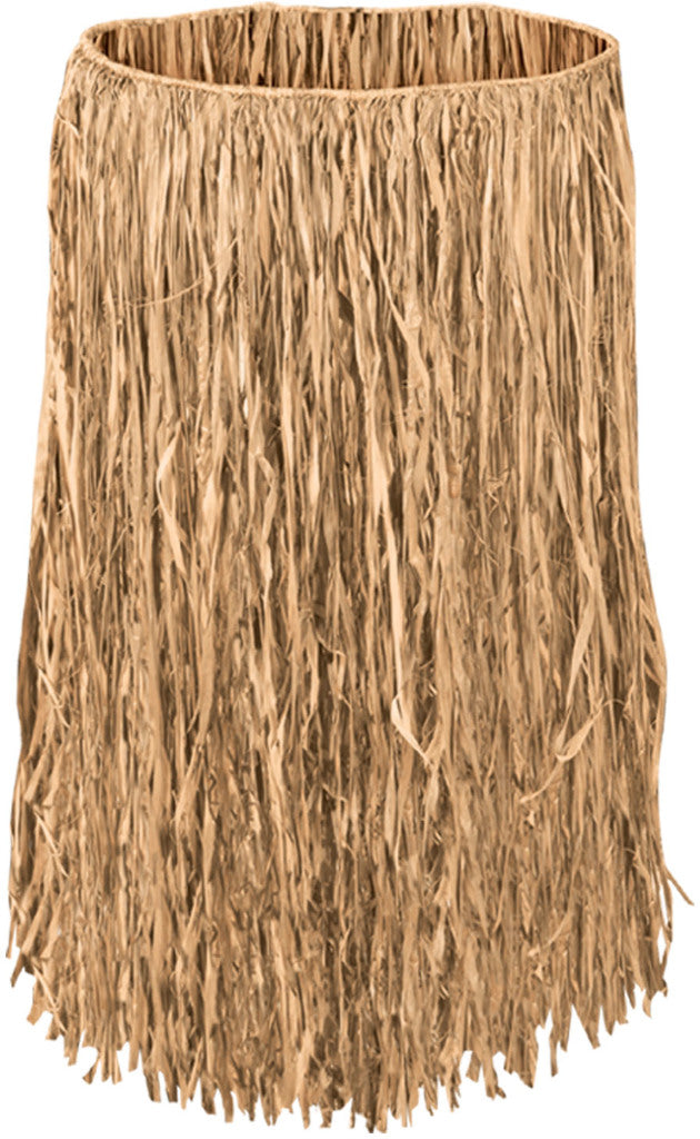 Extra Large Raffia Hula Skirt - Natural #25405 - CASE OF 12
