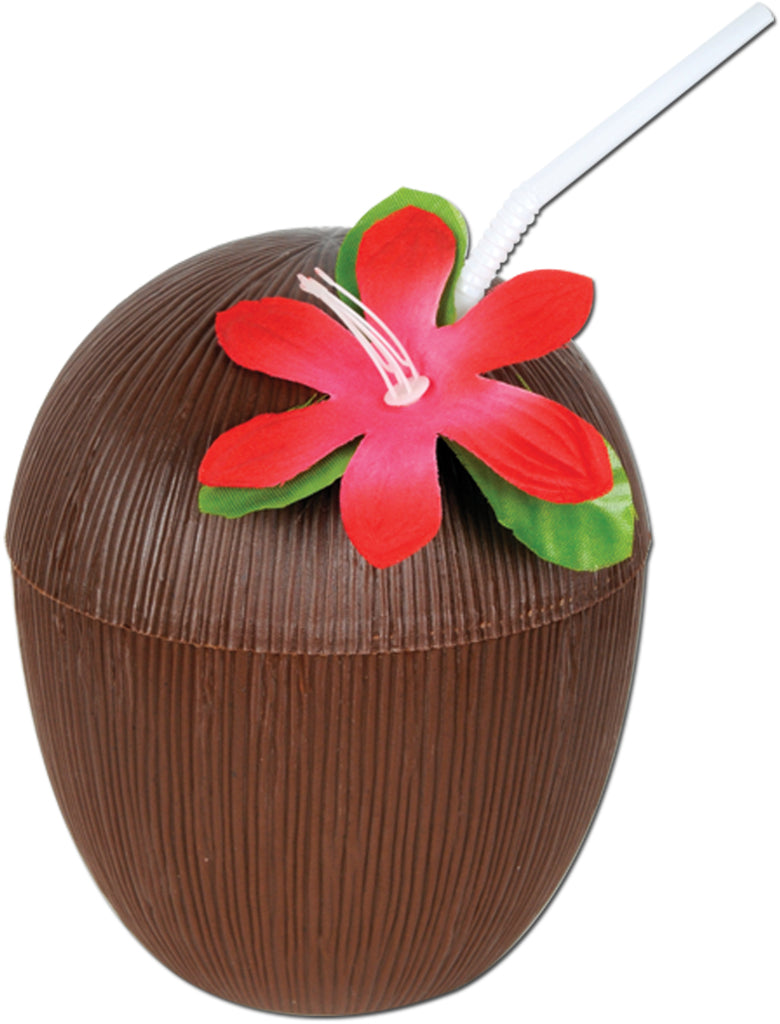 Plastic Coconut Cup - CASE OF 24
