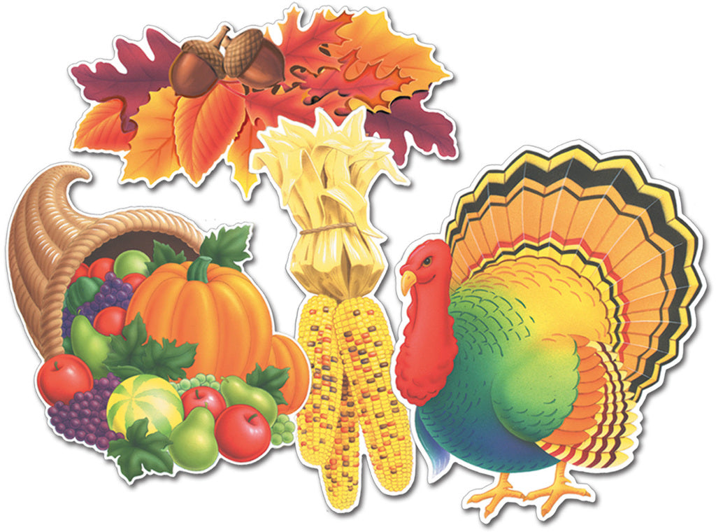 Thanksgiving Cutouts - CASE OF 72
