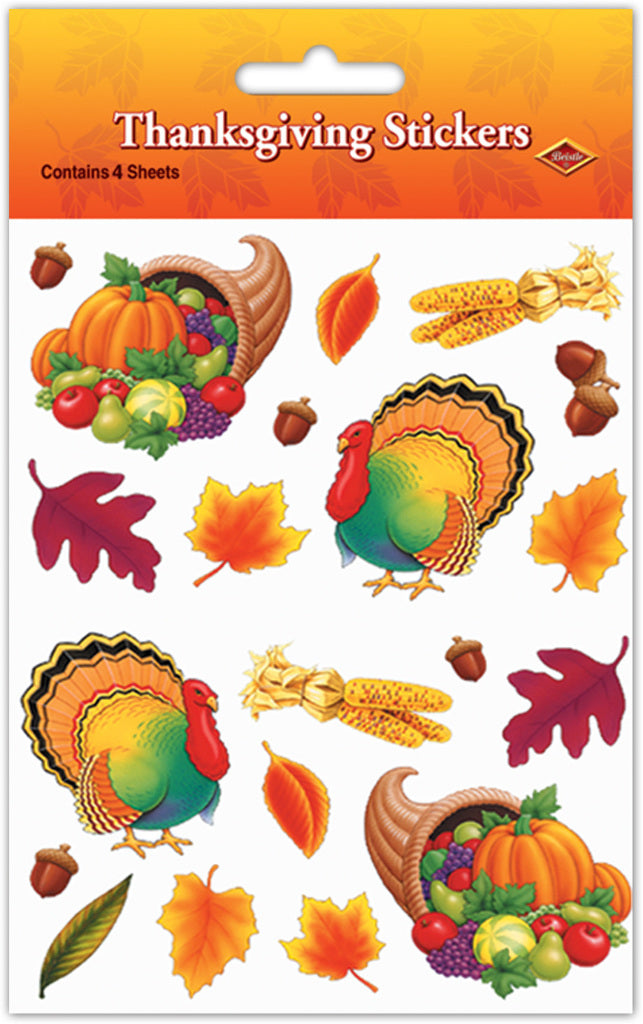 Thanksgiving Stickers - CASE OF 36