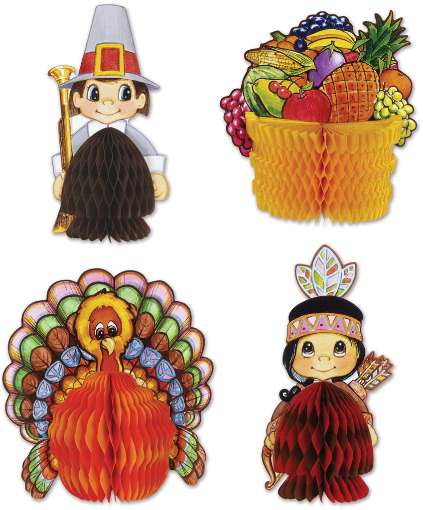 Thanksgiving Mini Centerpieces - CASE OF 24