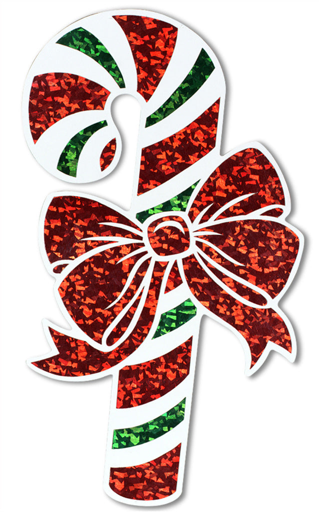 Prismatic Candy Cane Cutout - CASE OF 24