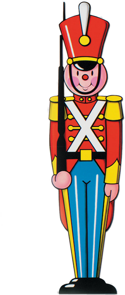 Toy Soldier Cutout - CASE OF 24
