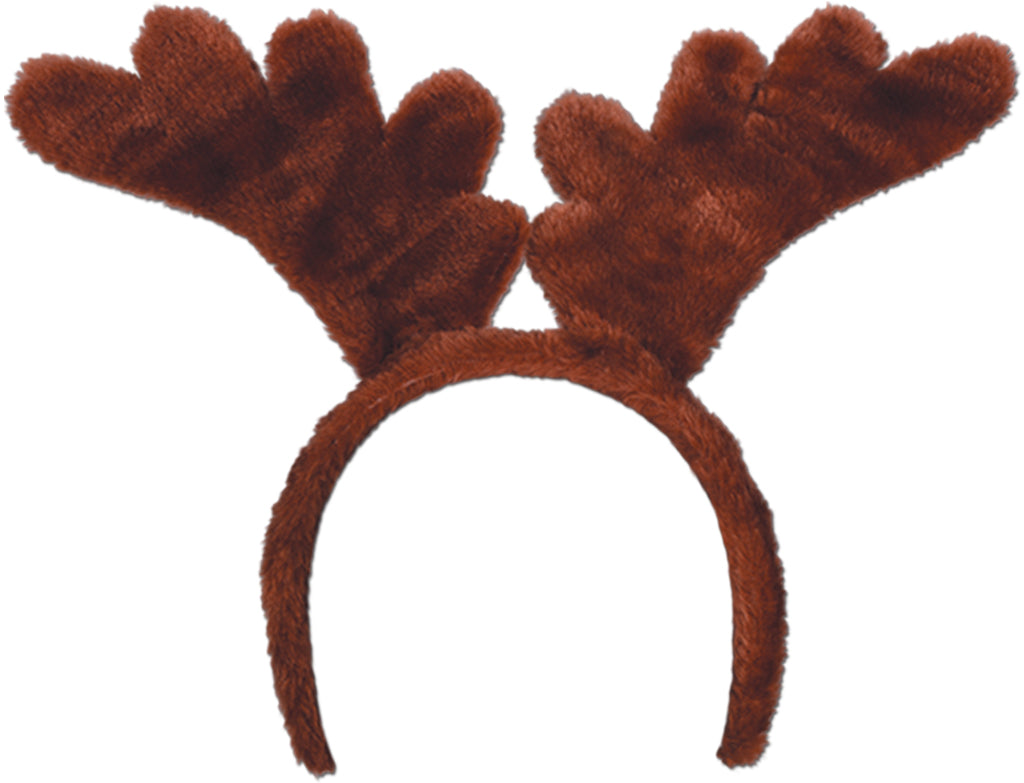 Soft-Touch Reindeer Antlers - CASE OF 24