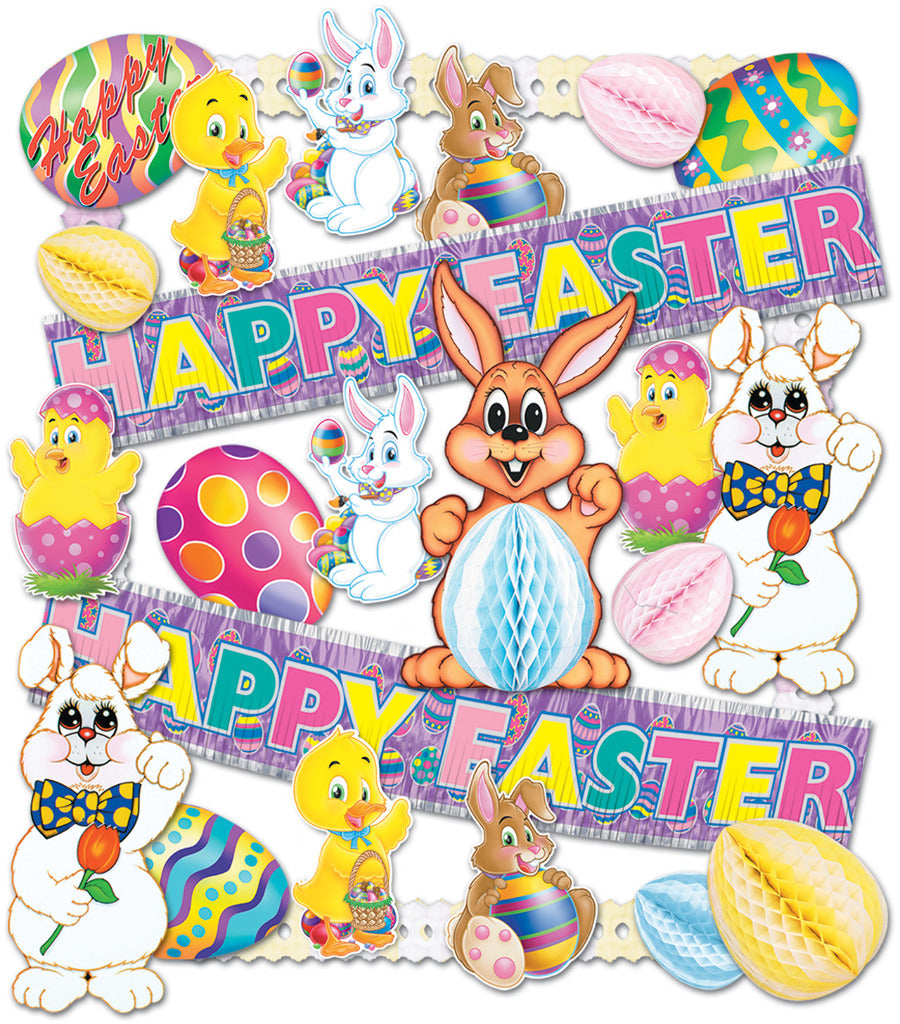 Easter Decorating Kit - 26 pieces - CASE OF 1