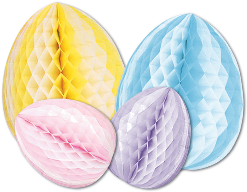 Tissue Eggs - Assorted Colors #21444 - CASE OF 12
