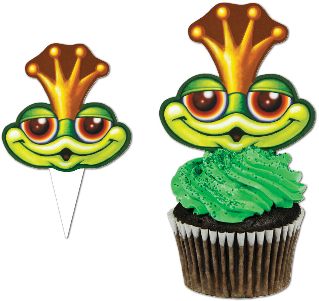 Frog Cupcake Picks - CASE OF 36