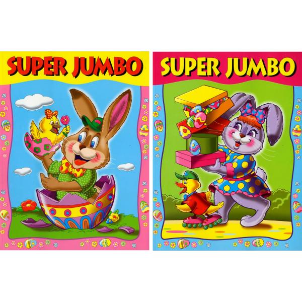 Easter Super Jumbo Coloring Book - CASE OF 36