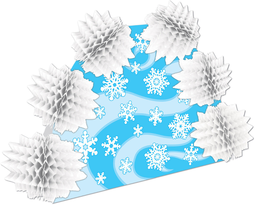 Snowflake Pop-Over Centerpiece - CASE OF 24