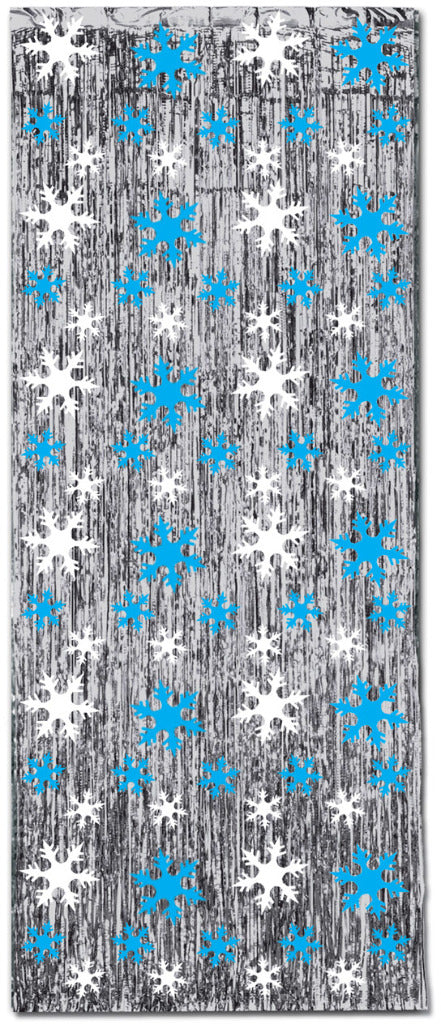 Snowflake 1-Ply FR Gleam 'N Curtain - CASE OF 6