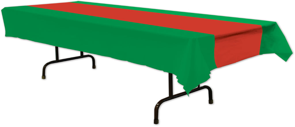 Red & Green Tablecover - CASE OF 12