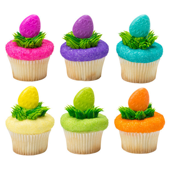 Decorative Easter Egg Cupcake Pics