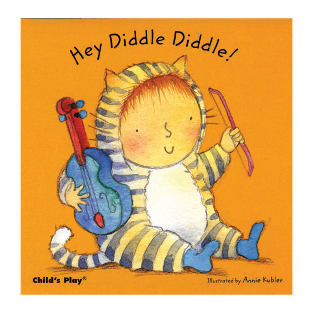 (6 Ea) Hey Diddle Diddle Board Book
