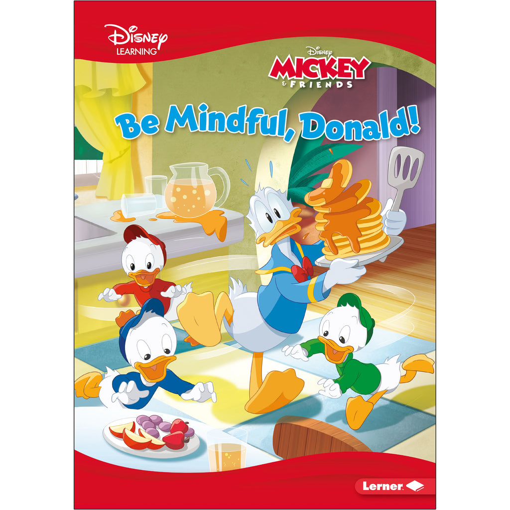 (3 Ea) Donald A Mickey & Friends Story Be Mindful