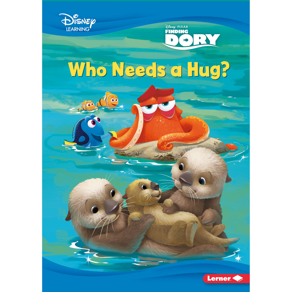 (3 Ea) Who Needs A Hug A Finding Dory Story