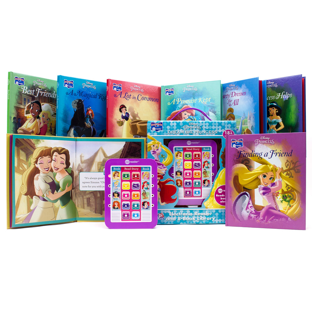 8 Book Disney Princess Dream Big Me Reader