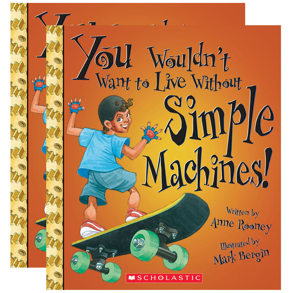 (2 Ea) You Wouldnt Want To Live W-o Simple Machines Book