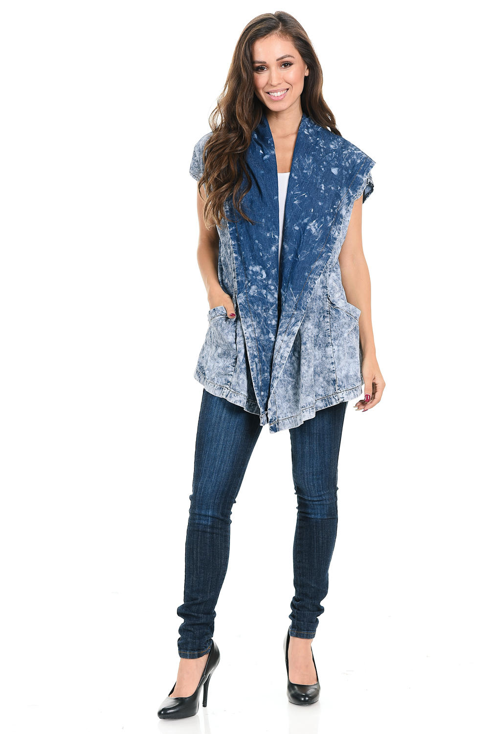 Sweet Look Women's Denim Jacket - Style K776