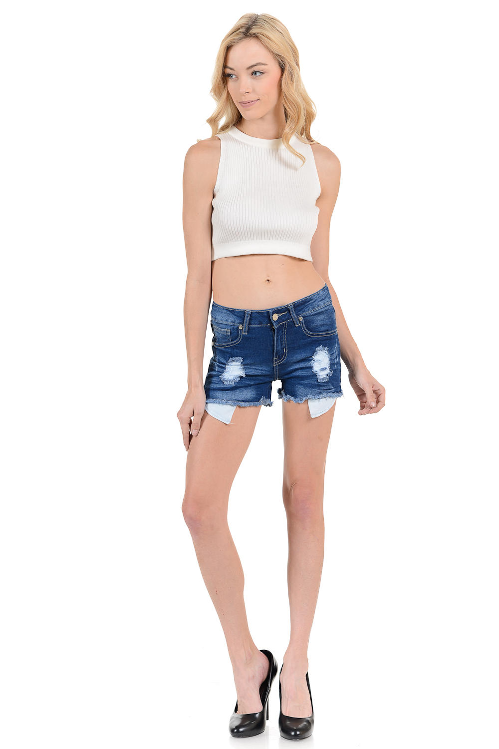 Sweet Look Women's Shorts - Style 14748A-R