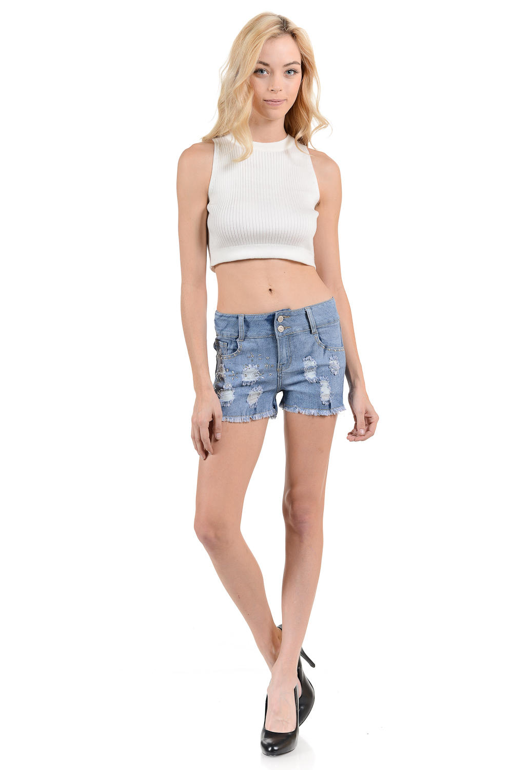 Sweet Look Women's Shorts - Style N630H-R
