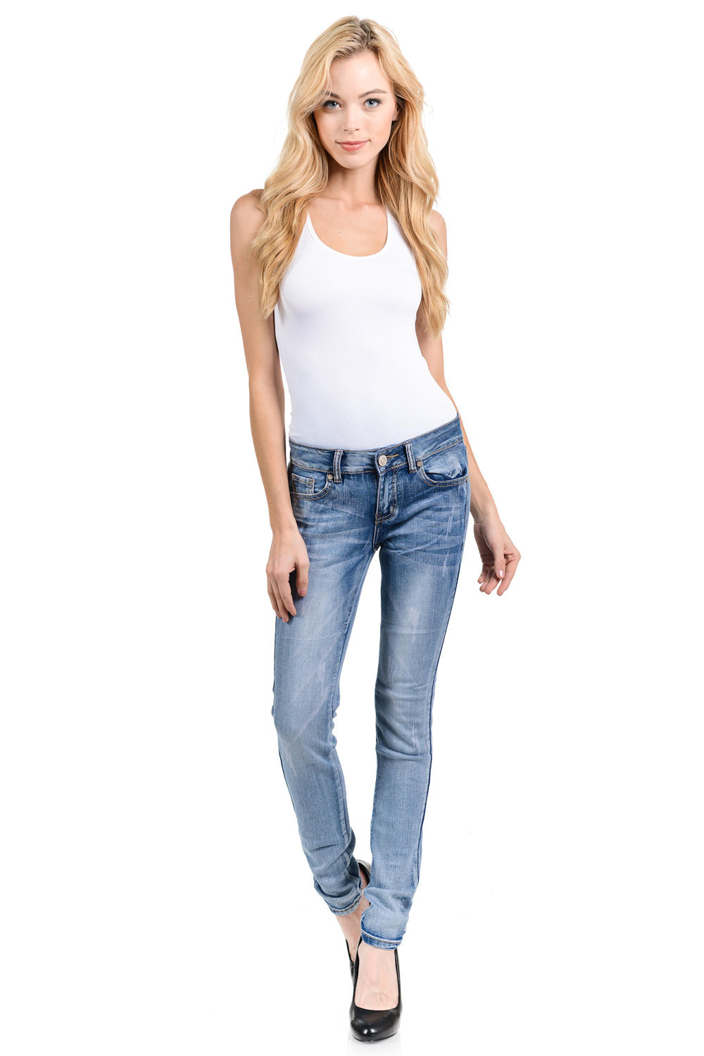Sweet Look Premium Edition Women's Jeans - Push Up - Style WG0206