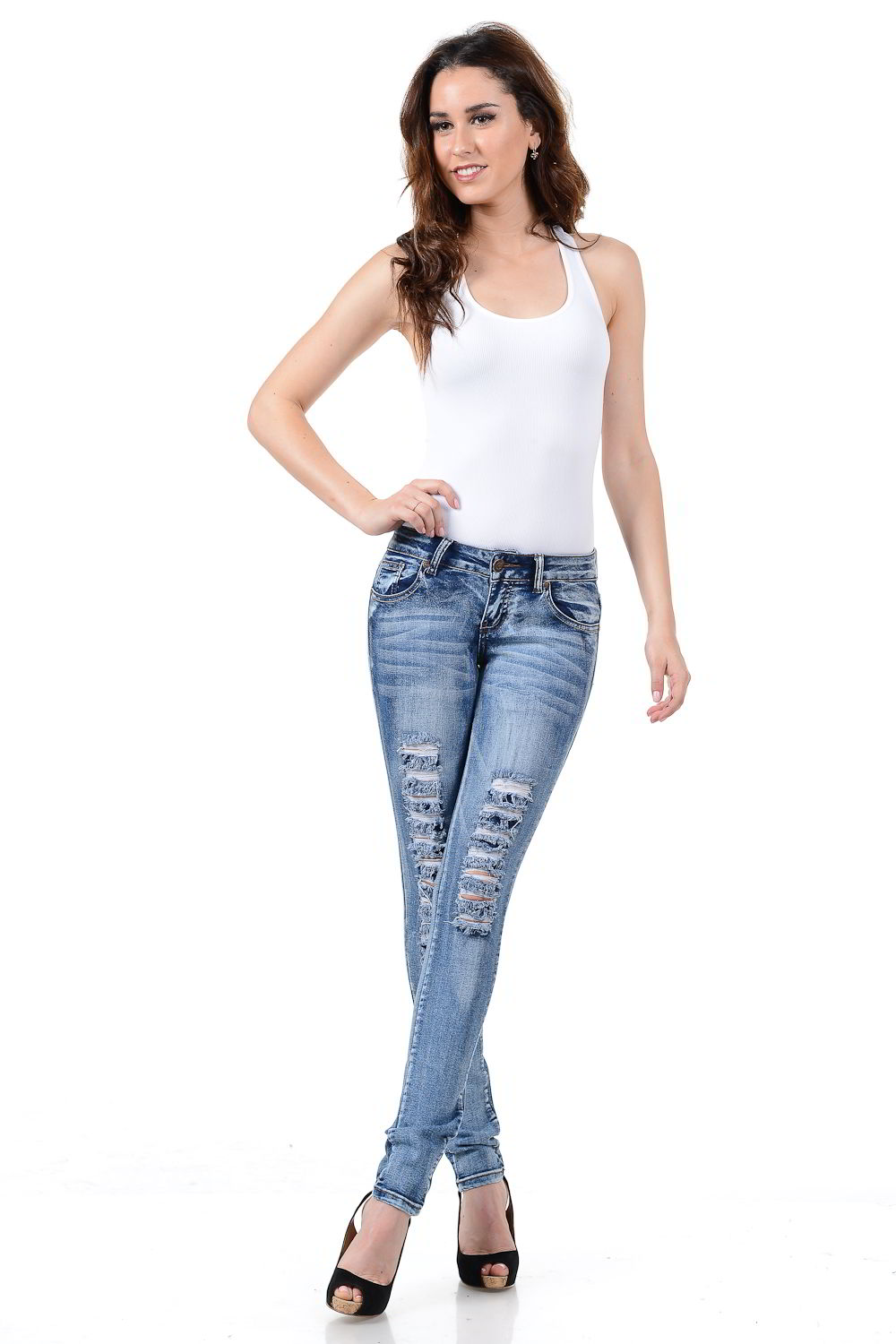 Sweet Look Premium Edition Women's Jeans - Push Up - Style WG0230