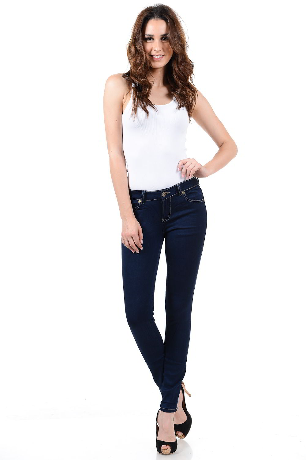 Sweet Look Premium Edition Women's Jeans - Push Up - Style WG0247