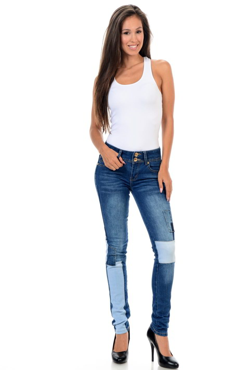 Sweet Look Premium Edition Women's Jeans - Push Up - Style X06
