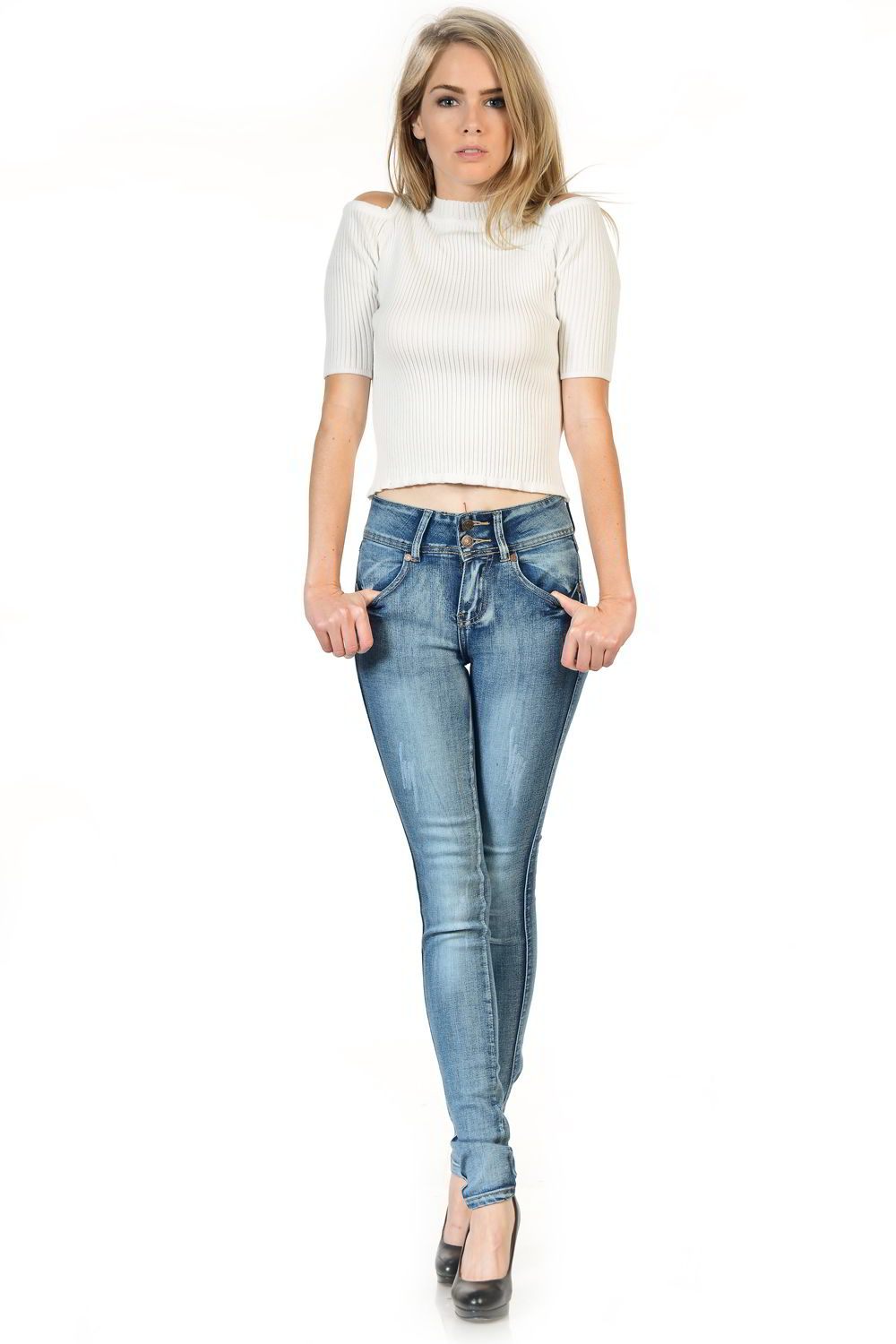 Sweet Look Premium Edition Women's Jeans - Push Up - Style X07