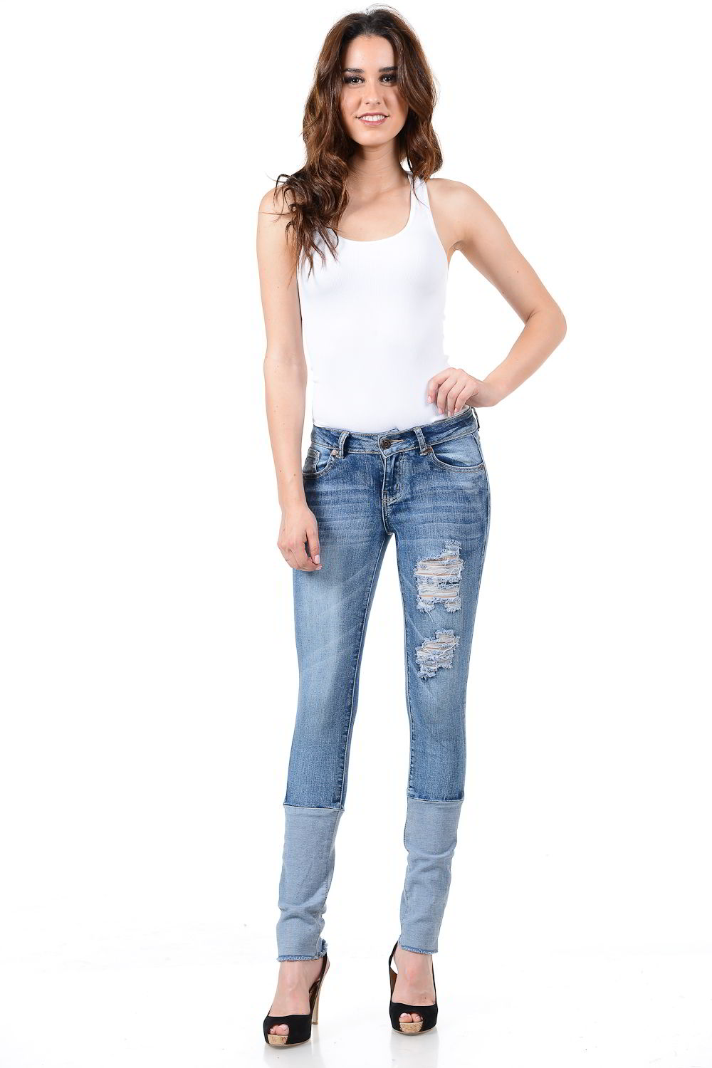 Sweet Look Premium Edition Women's Jeans - Push Up - Style X118-R