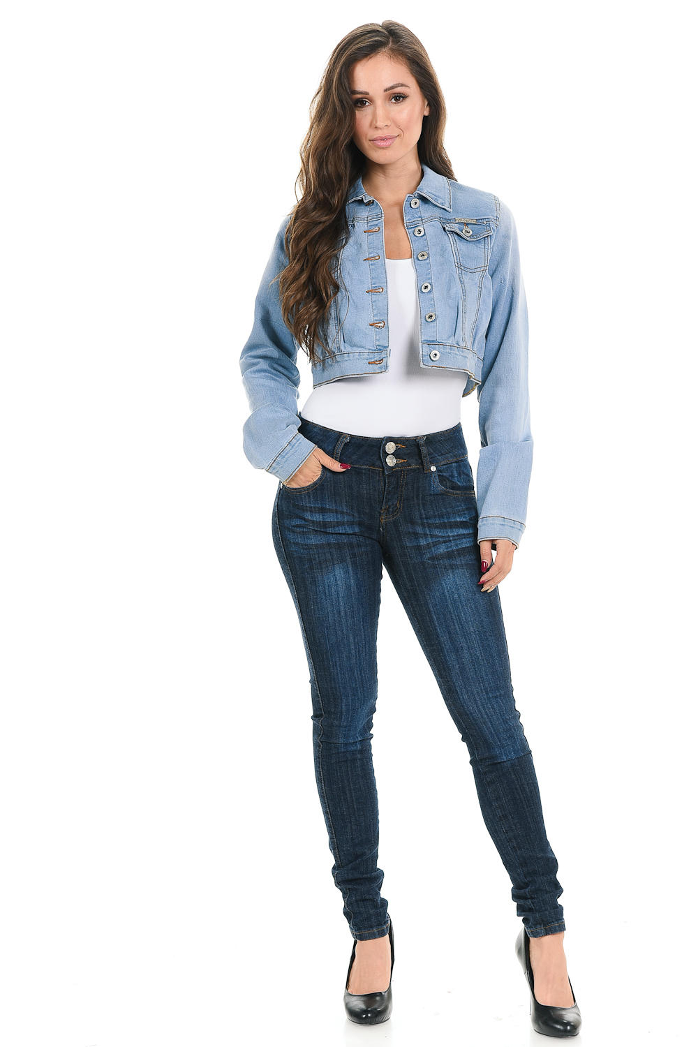 Sweet Look Women's Denim Jacket - Style 292
