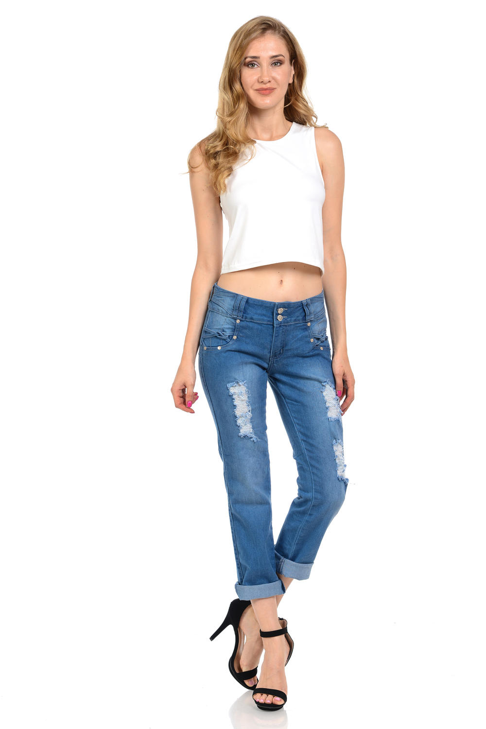 Sweet Look Premium Edition Women's Jeans - Push Up - Style M449