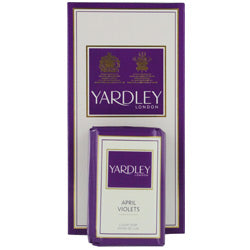 Yardley By Yardley April Violets Luxury Soaps 3x3.5 Oz Each