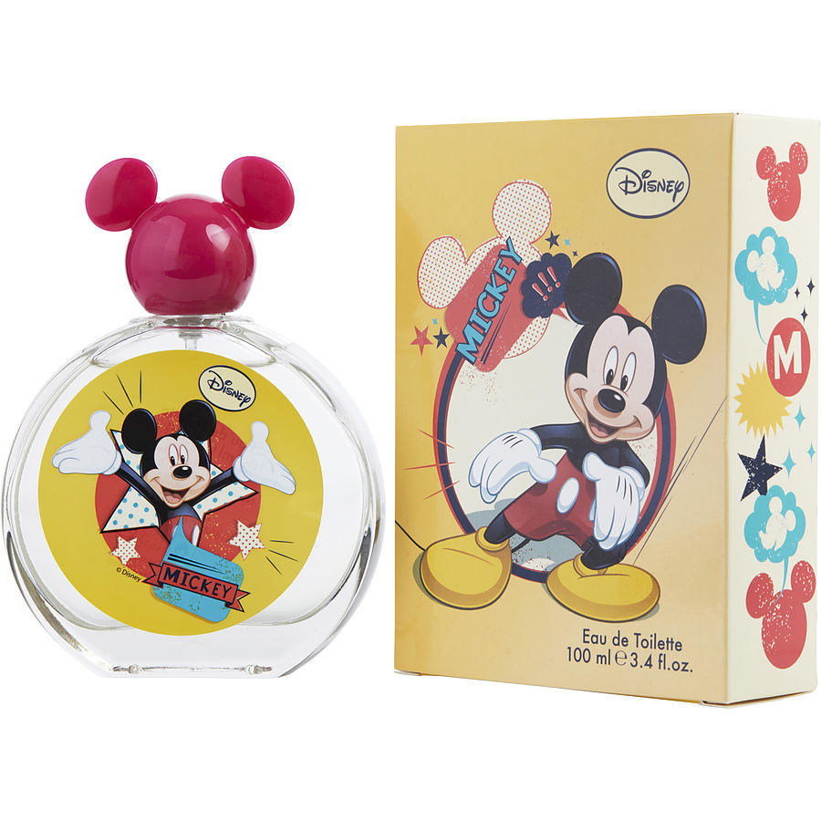 Mickey Mouse By Disney Edt Spray 3.4 Oz (new Packaging)