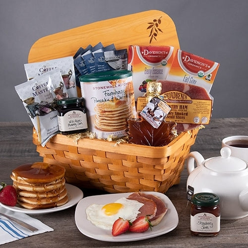 Valentines Day Gift Basket Breakfast in Bed