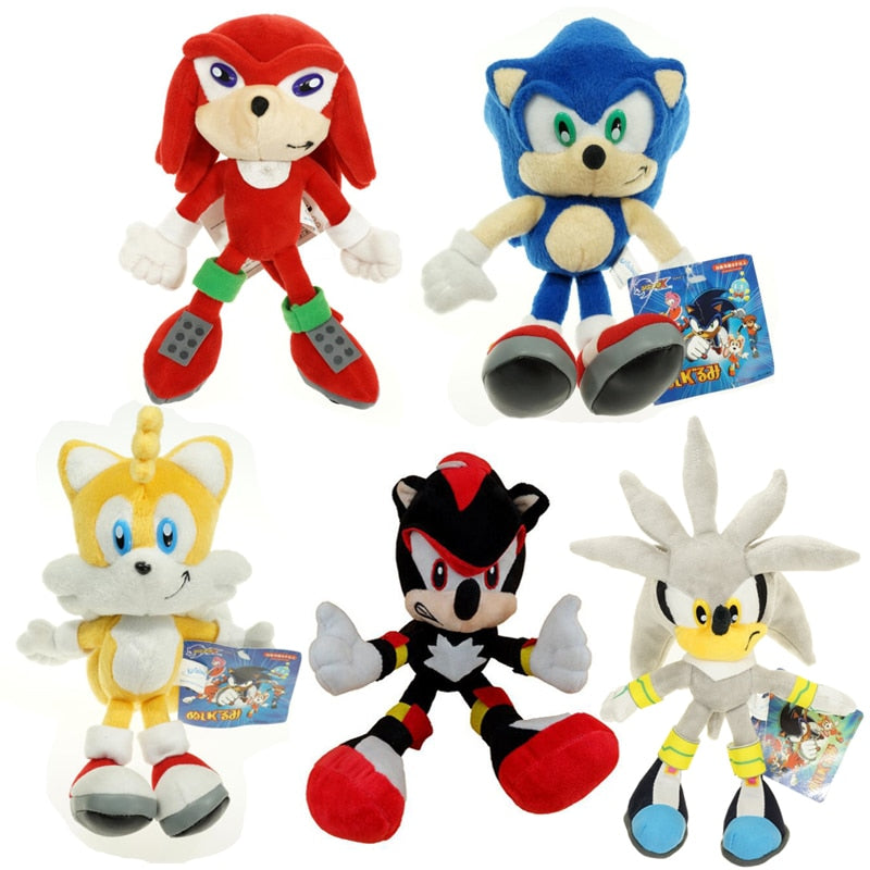 Sonic The Hedgehog Plush Choose Cartoon Character