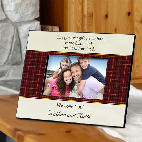Personalized Father's Poem Picture Frames