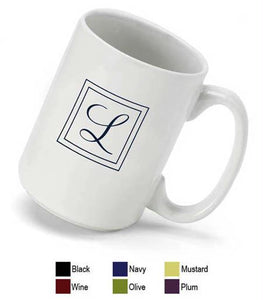 Personalized Monogrammed Coffee Mug