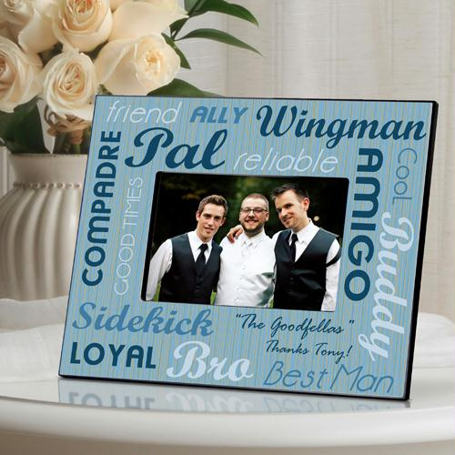 Best Man Best Buds Picture Frame
