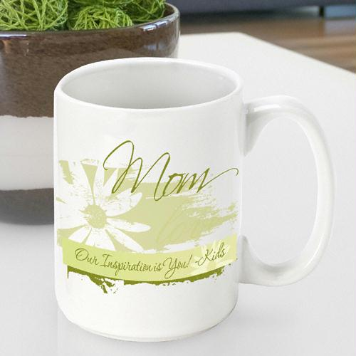 Delicate Daisy Mother's Day Coffee Mug