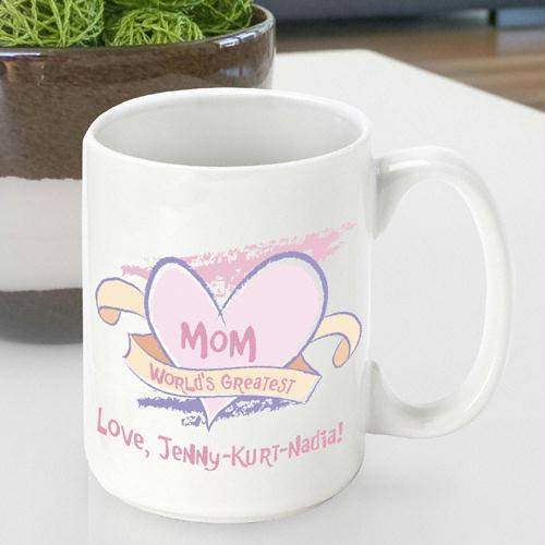 World's Greatest Mom Mother's Day Coffee Mug