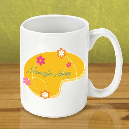 Orange Meadow Coffee Mug