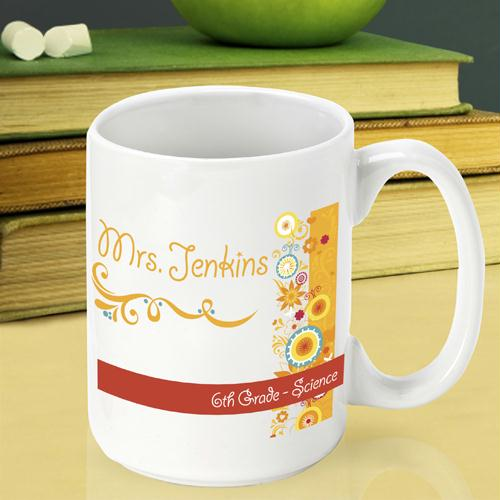 Sunshine and Flowers Teacher Coffee Mug