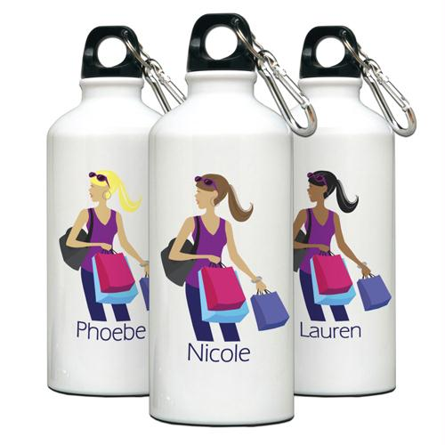 """Go-Girl"" Shopper Water Bottle"