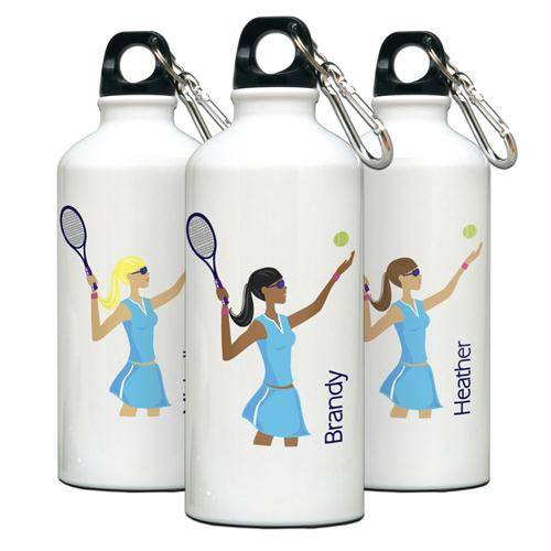 """Go-Girl"" Tennis Water Bottle"