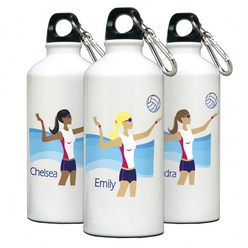 """Go-Girl"" Volleyball Water Bottle"