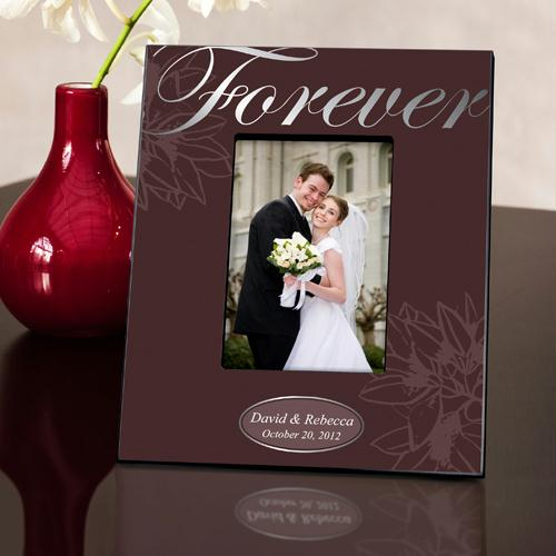 Personalized Silver Forever Picture Frame