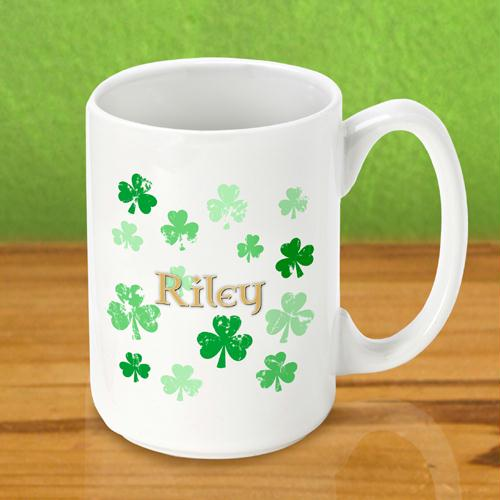 Raining Clovers Coffee Mug