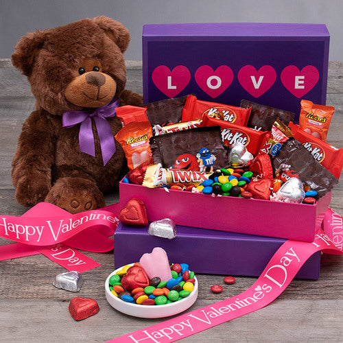 Valentines Day Gift Box Love You Beary Much